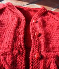 Helena buttons (ladybugs)