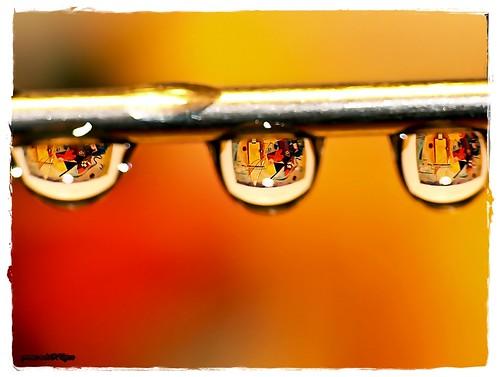 ABSTRACT EXPRESSIONISM - REFLECTION (yART photography) reflection art kandinsky waterdrops reflexions abigfave colourartaward lumixaward mirrorser