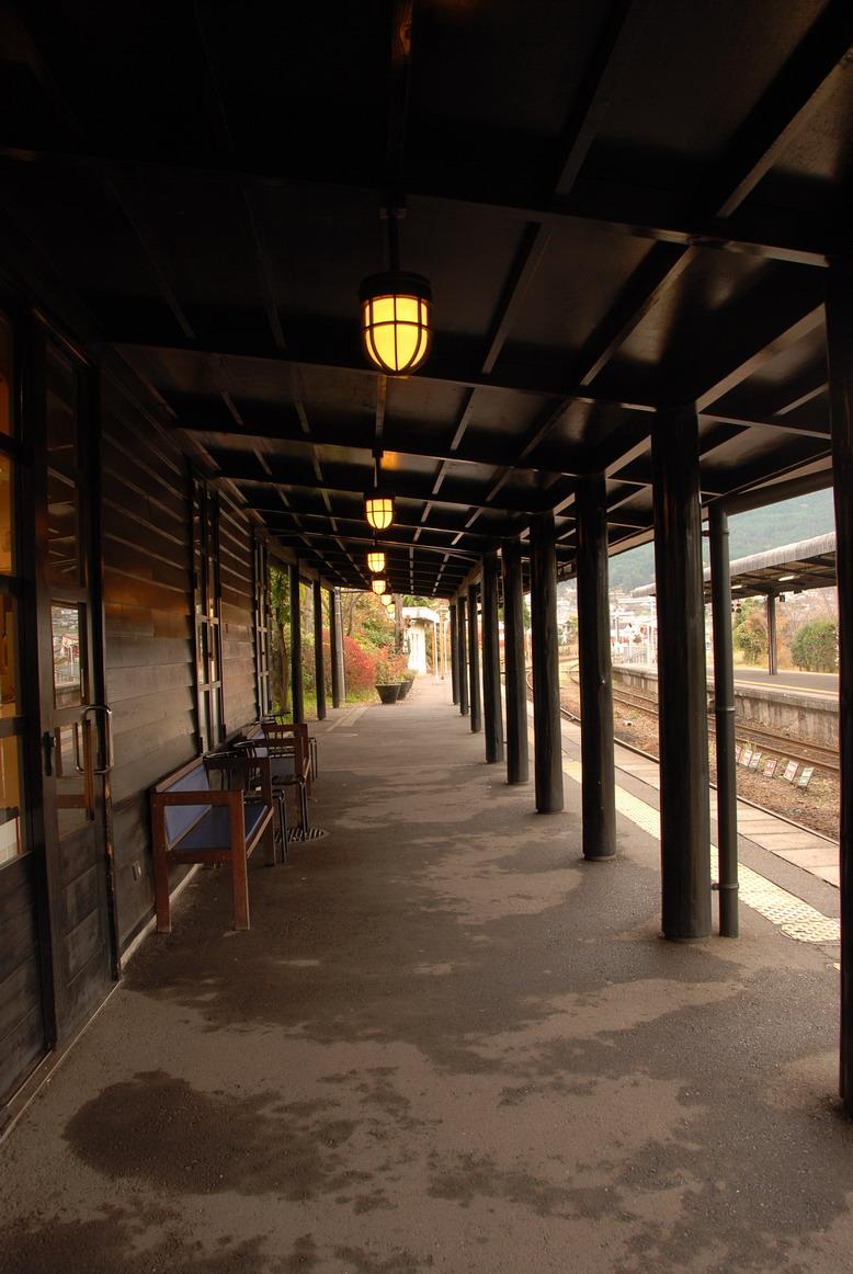 湯布院站月台