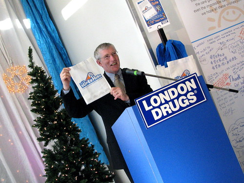 London Drugs Grand Opening and BC Children's Hospital Campaign