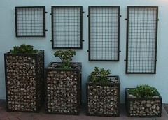 Cubedec D Range Powder Coated (Badec Bros Deco) Tags: b outdoor planters landscaping mosaic contemporary steel indoor powder pots benches decor deco bros coated gabions pergolas a badec cubedec cubench