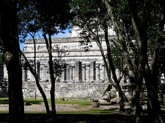 Temple Of A Thousand Columns (Butch Osborne) Tags: city travel mexico temple ancient ruins maya culture yucatan mayan mayanruins historical cancun traveling antiquity mustsee mayanculture yuccatan mayancity bucketlist