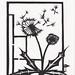 dandelion papercut/ tattoo?