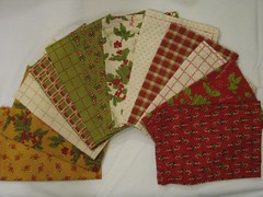 Set of 12 cloth napkins (set B)