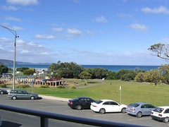 View from my hotel room in Lorne (mattcashmore) Tags: hotel view lorne