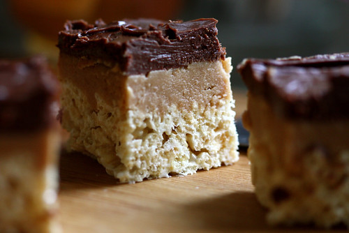 Peanut Butter Fudge Krispy Treats