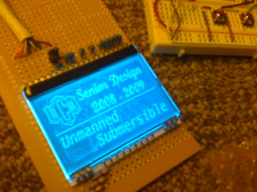 Small LCD screen