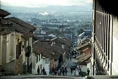 Hill street in La Candelaria (Xos Castro) Tags: latinamerica southamerica colombia bogot sudamrica latinoamrica lacandelaria