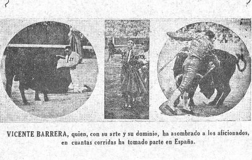Vicente Barrera y Cambra años 30