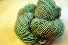green skein twisted