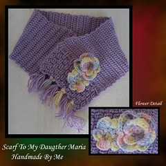 Scarf to My Daugther Maria / Bufanda para mi Hija Maria