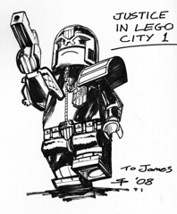 Stephen Thompson - Lego Judge Dredd