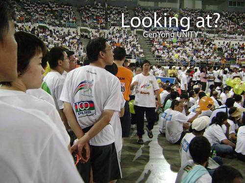 Looking at-