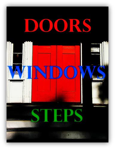 Doors, Windows, and Steps