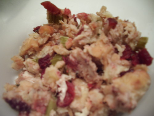 Cranberry Savory Stuffing