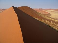 Sand dunes, Sossuvlei, Namibia
