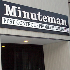 Minuteman Pest Control and Problem Wildlife (Seigel Signs) Tags: signs trafficsigns godfrey metalsigns woodensigns graphicsigns buildingsign outdoorsigns companysigns andsigns customsigns seigel retailsigns signssignage sandblastedsigns signdesign vinylsigns exteriorsignage interiorsigns rusticsigns personalizedsigns customledsigns custommadesigns lobbysigns acrylicsigns routedsigns aluminumsigns carvedsigns customdesignsigns custombusinesssigns signlettering customcargraphics backlitsigns outdoorsignletters custommetalsigns bannersigns customoutdoorsign customoutdoorsigns custompaintedsigns outdoorbusinesssigns customsigncompany customwoodsigns signsforbusiness carvedwoodsigns engravedsigns customstreetsigns giftsigns customwindowdecals affordablesigns plaquesigns seigelgodfreysigns godfreysigns westernmassachusettssigns massachusettssigns signtreatment customneonsigns metaloutdoorsign customwindowsign custommadeneonsigns customsigndesign customstoresign customlightedsigns