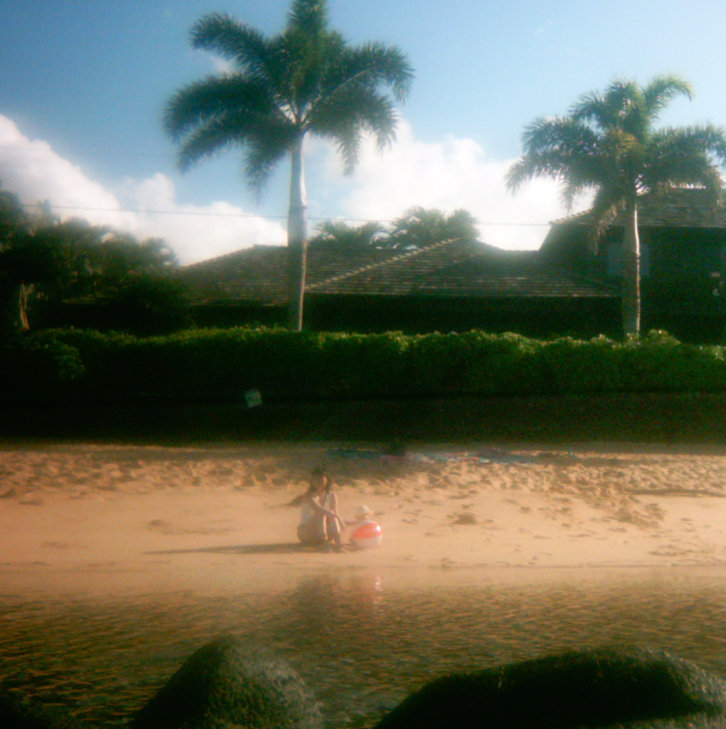 Kauai baby beach