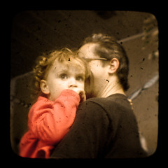 Father and Daughter (Pete Ashton) Tags: baby duaflex ttv throughtheviewfinder tomlennon