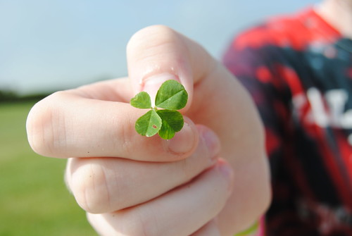 cristinalyn's four leaf clover.