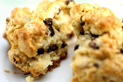 Currant Scones from La Provence Patisserie & Cafe Beverly Hills