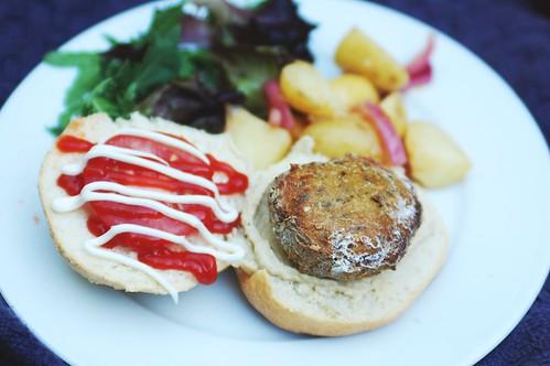 spelt burger