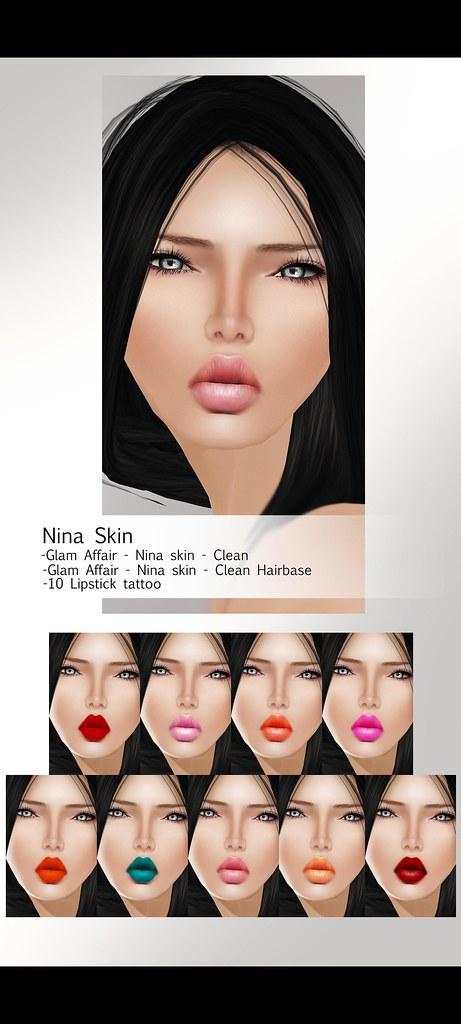 -Glam Affair- Nina skin - TDR ed