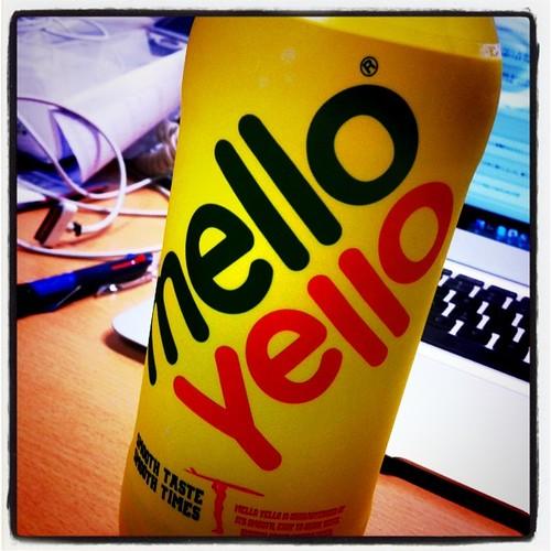 久しぶりのmellow Yello