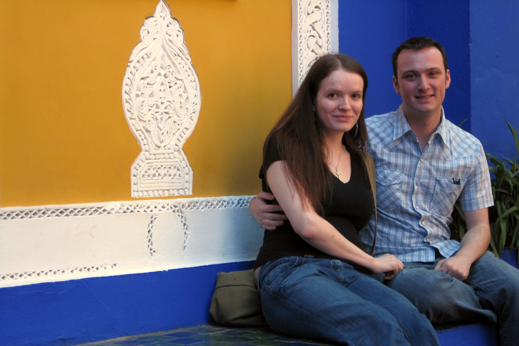 Sarah and Rob