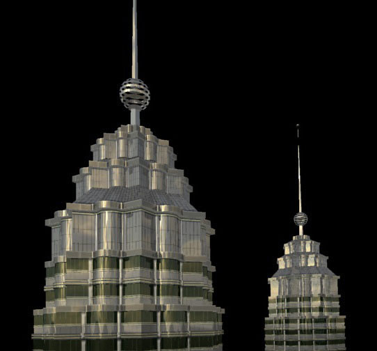 Petronas Towers - Render