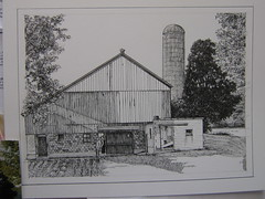 Charlie's barn, in progress