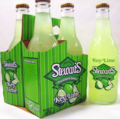 Stewart's Key Lime Soda