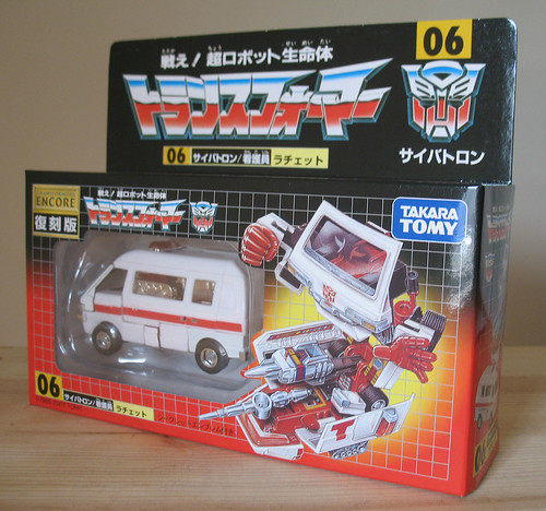 Transformers Encore 06  Ratchet