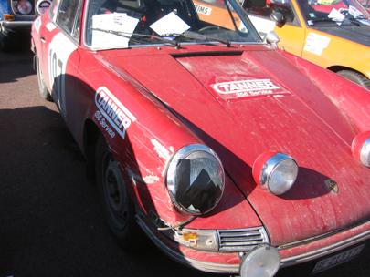 Dinged Porsche