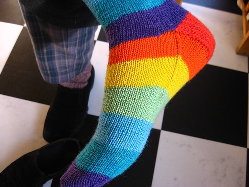 regia-uni 4-fädig nation socks