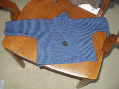 Ribbed Baby Jacket