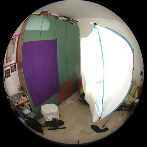 Ikea Koja tent as Light Bank
