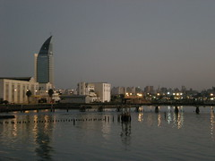 Skyline - Puerto de Montevideo (sagilet) Tags: sunset uruguay montevideo