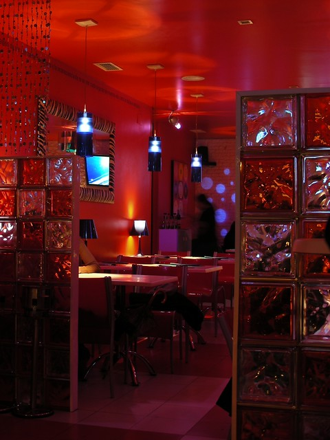 Interior de Babu Lounge Bar