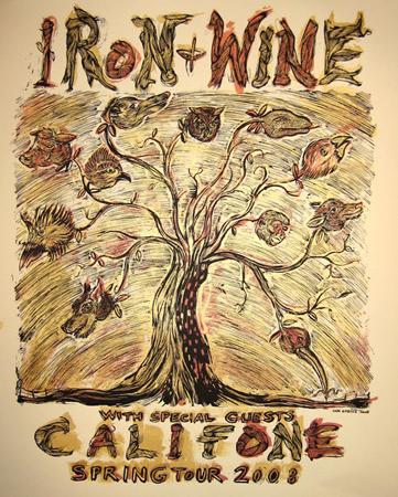 califone poster by Dan Grzeca