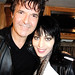Clem Burke & Joan Jett @ the John Varvatos party