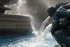 Trafalgar Square Fountain, London