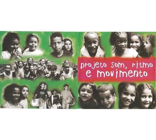 Capa do CD do Projeto Som, Ritmo e Movimento.