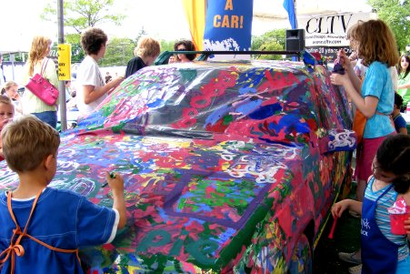 Car Painting for Charity