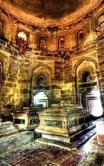 The Eerie and Beautiful Glowing Mausoleum (Stuck in Customs) Tags: pictures windows panorama india colors grave lines composition work dead effects photography death intense scary nikon colorful shoot photographer shot angle photos sleep unique background delhi indian details tomb d2x perspective surreal images best graves textures edge processing horror pro bloody framing portfolio capture magical tombs hdr feelings treatment mostviewed humayun highquality stuckincustoms treyratcliff vision100