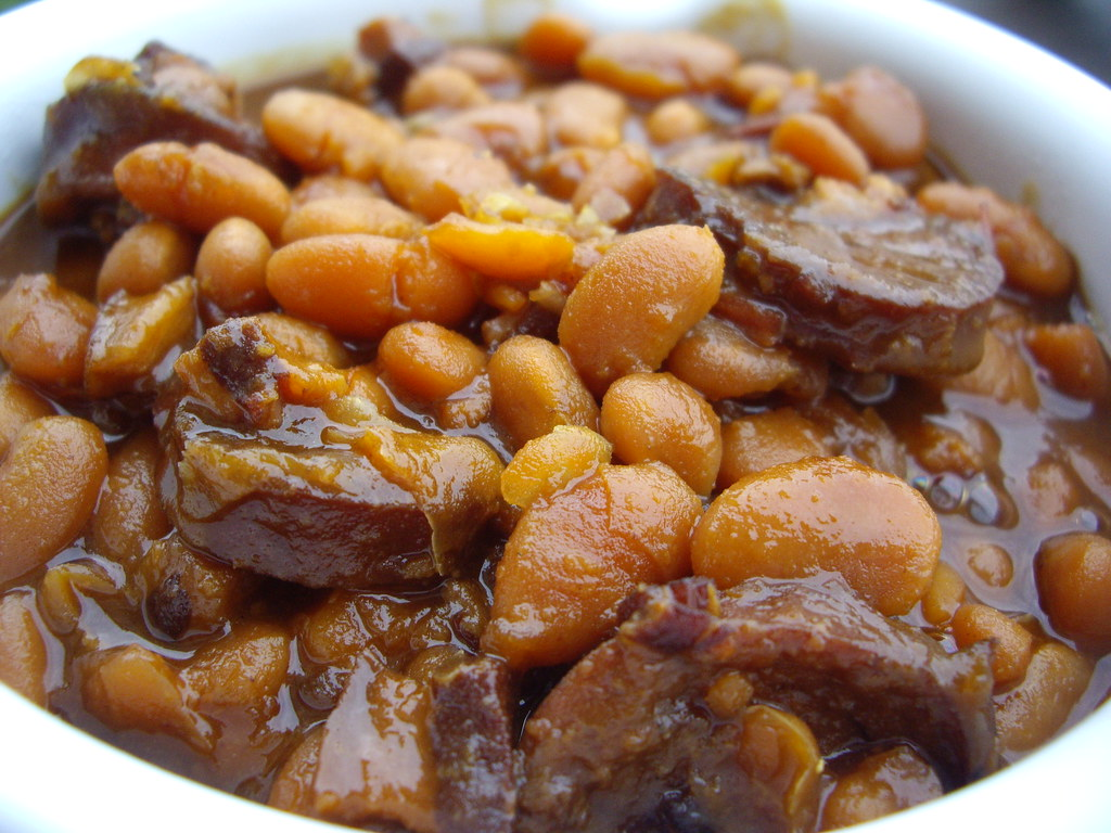 Boston Baked Beans with Franks