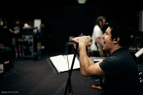 Trent Reznor: NIN Rehearsals, 6.04.08
