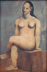 Pablo Picasso - Seated Nude