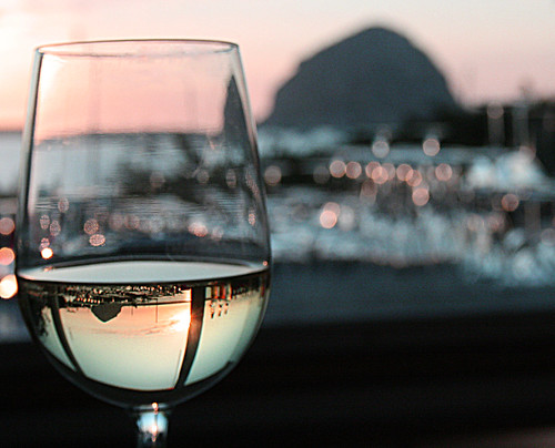 The Rock & The Wine at Sunset. jillclardy/Flickr