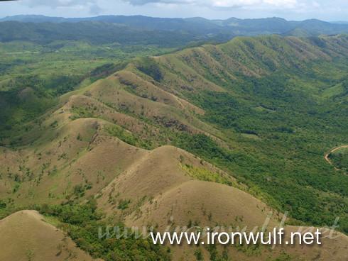Coron mountain scape